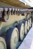 Tracteur à chenilles de véhicule militaire photographie stock