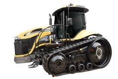 Tracteur à chenilles intense d'isolement photographie stock