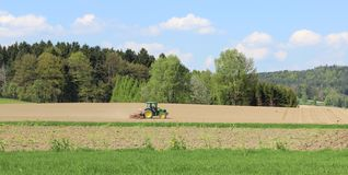 Tracteur. Images stock