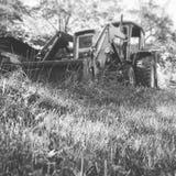 Tracteur approchant Image stock
