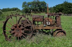Tracteur d'ancien Photos stock