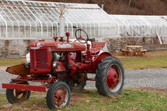 Tracteur 1939 de Farmall Photographie stock
