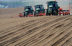 Tracteurs Photographie stock libre de droits