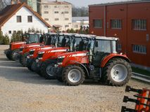 Tracteurs Photographie stock