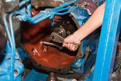 Tracteurs de réparation automatique Photos libres de droits