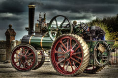 Free Traction Engine Royalty Free Stock Photos - 30768958