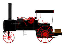 Traction engine Royalty Free Stock Photos