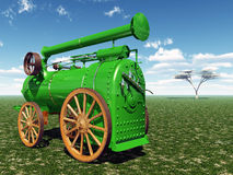 Traction engine Stock Photos