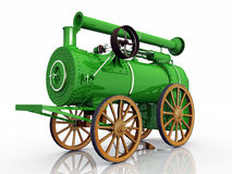 Traction engine Royalty Free Stock Images