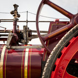 Traction Engine detail Stock Photo