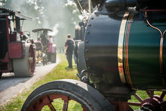 Traction Engine Parade Royalty Free Stock Photo