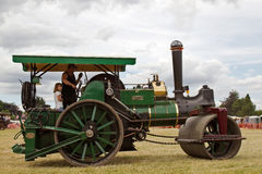 Traction engine rides Royalty Free Stock Photos