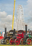 Traction Engines at Pickering annual Rally Stock Photos