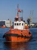 traction subite de bateau Photographie stock libre de droits