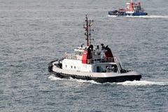 traction subite de bateau Photo libre de droits