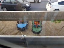 Traction subite de rivière de Chaopraya Photos stock