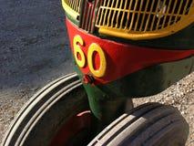Tractorâdetail antique Images libres de droits