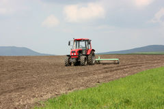 A tractor Royalty Free Stock Photography