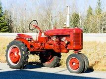 Tractor. Near Jonesboro, Maine, USA Stock Images