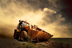 Free Tractor Royalty Free Stock Photo - 18700675