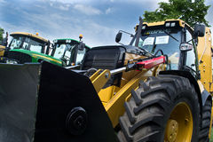 A tractor Royalty Free Stock Images