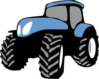 Tractor libre illustration