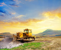 The tractor Royalty Free Stock Photography