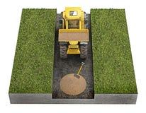 tractor Royalty-vrije Stock Fotografie
