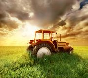Free Tractor Royalty Free Stock Photos - 5124378
