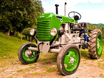 Tractor. Old and well restored tractor Royalty Free Stock Photo