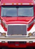 Tractor-aanhangwagen frontale vrachtwagen Royalty-vrije Stock Afbeeldingen
