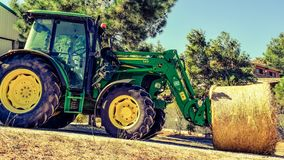 Tractor, Agricultural Machinery, Agriculture, Vehicle Royalty Free Stock Image