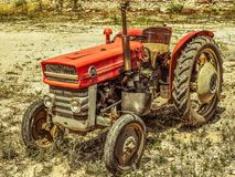 Tractor, Agricultural Machinery, Motor Vehicle, Agriculture royalty free stock images