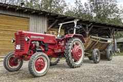 Tractor, Agricultural Machinery, Motor Vehicle, Vehicle stock images