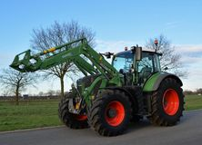 Tractor, Agricultural Machinery, Vehicle, Mode Of Transport stock photo