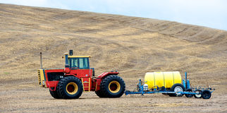 Tractor and agricultural sprayer Royalty Free Stock Images
