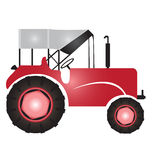 Tractor for agriculture Stock Photography