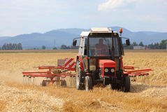 Tractor, Agriculture Farming Stock Image
