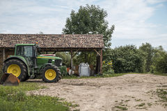 Tractor Royalty Free Stock Photography