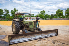Tractor for agriculture Royalty Free Stock Photo