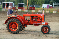 Tractor Allis Chalmers model 1937 Royalty Free Stock Image