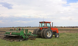 Tractor And Disc Royalty Free Stock Photo