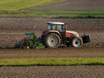 Free Tractor At Work Stock Images - 6597494