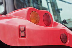 Tractor back lights Royalty Free Stock Photos