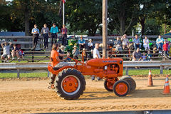 Tractor Barrel Roll Royalty Free Stock Photography