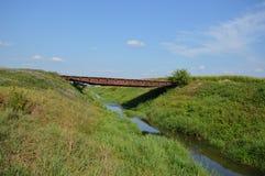 Tractor Bridge Stock Photos