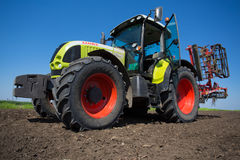 TRACTOR CLASS ARION 600 Royalty Free Stock Photography