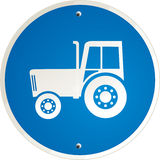 Tractor clear Royalty Free Stock Images