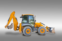 Tractor with clipping path Stock Image