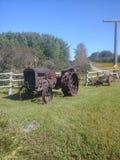 Tractor de la isla de la roca Fotografía de archivo libre de regalías